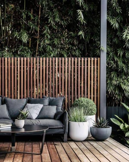 grey outdoor furniture