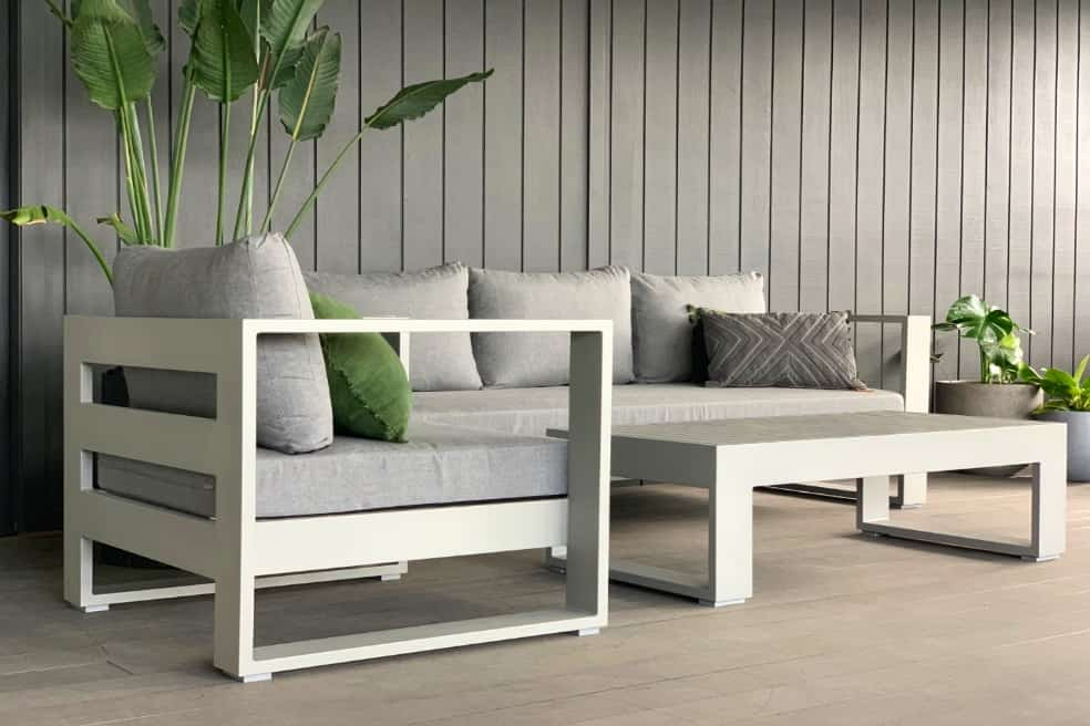 sunbrella outdoor lounge suite warehouse direct Auckland