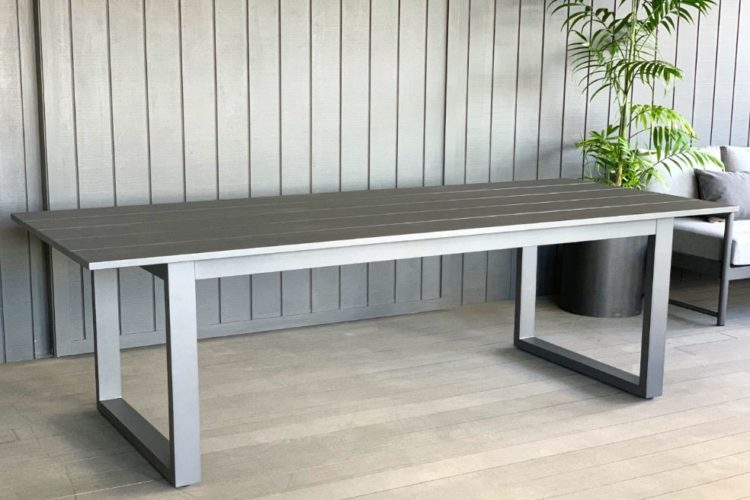 outdoor-aluminium-grey-table-nz
