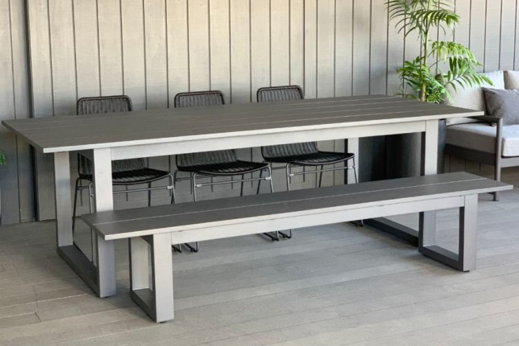outdoor-aluminium-dining-table-sets-charcoal-nz
