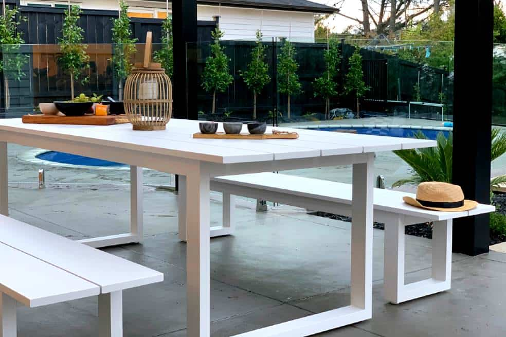 8 Seater Outdoor Dining Table, Modern Outdoor Dining Sets For 8