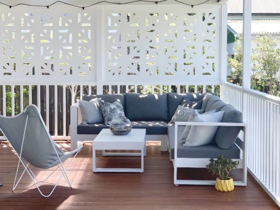 modern quality corner outdoor sofa sunbrella nz