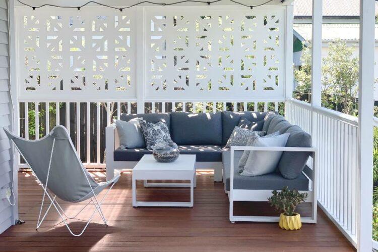 modern quality corner outdoor sofa sunbrella nz