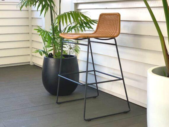 outdoor bar chair wheat nz summer