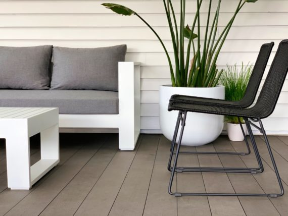 rattan steel black outdoor dining chairs modern style
