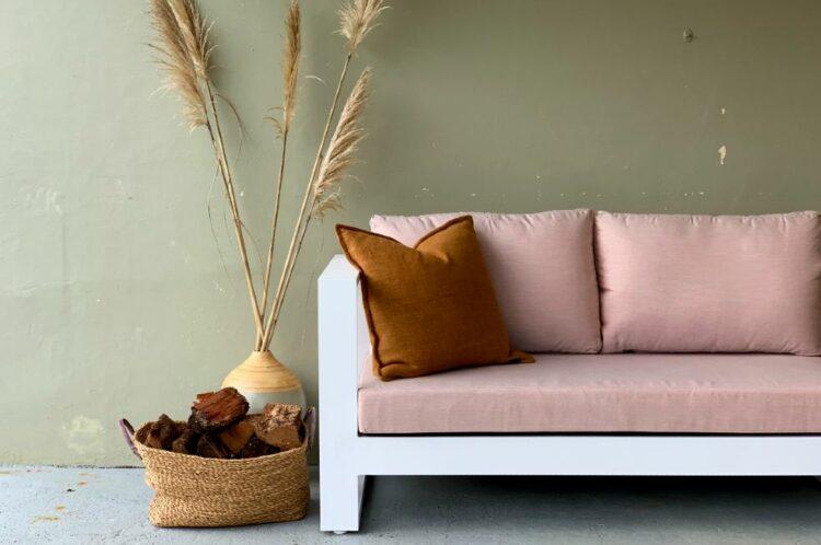 sunbrella blush corner outdoor sofa nz