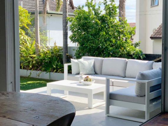 white outdoor furniture auckland