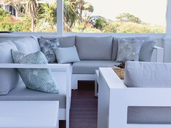 white outdoor furniture beachy