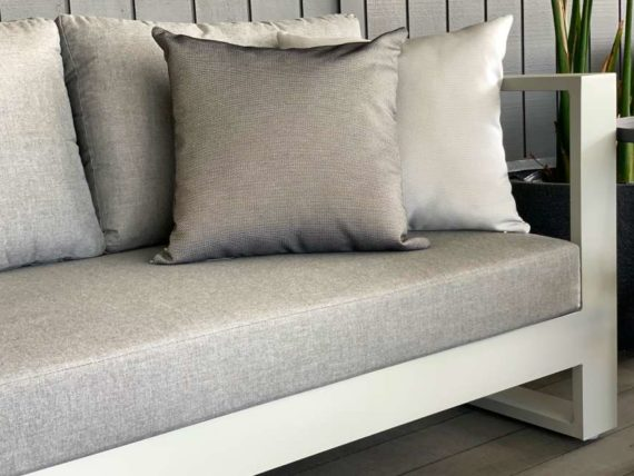 2 seater outdoor sofa grey sunbrella nz
