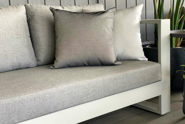 2 seater outdoor sofa grey sunbrella nz