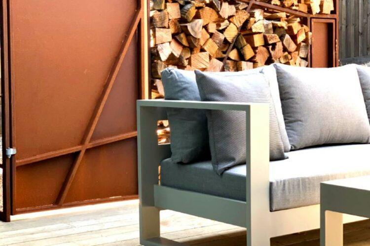 grey outdoor 3 seater sunbrella sofa nz