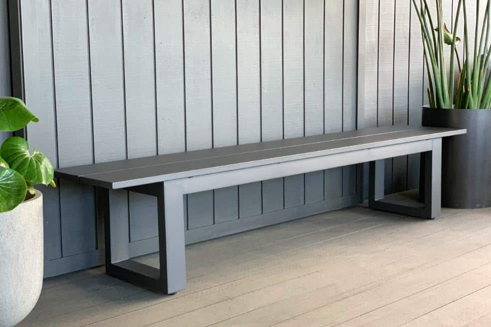 Fantastic The Long Lunch Range Outdoor Bench Seat Anthracite Grey Uwap Interior Chair Design Uwaporg