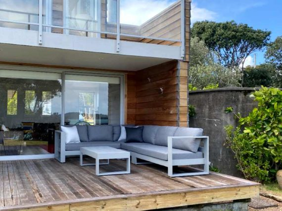 quality grey outdoor corner sofa auckland