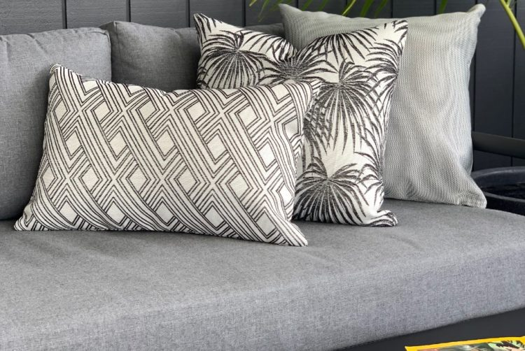 black grey outdoor sofa sunbrella nz
