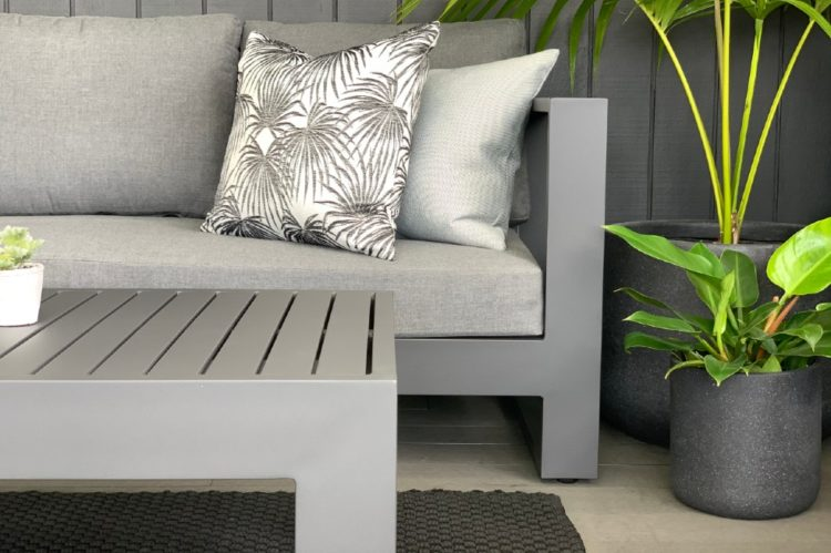 charcoal frame outdoor sofa warehouse prices