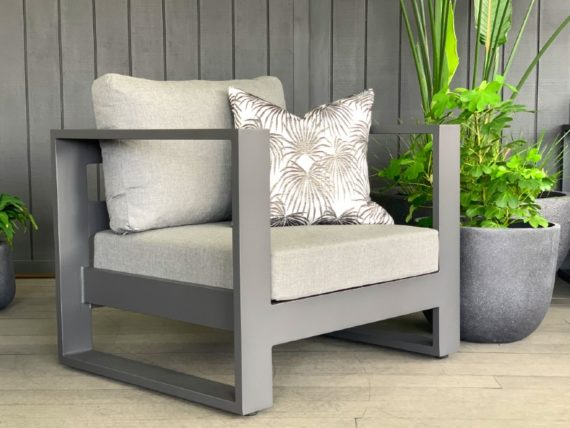 984 charcoal outdoor chair nz