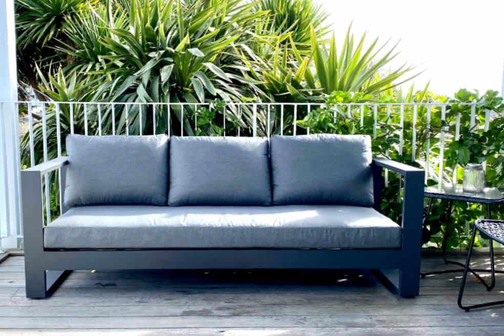 black grey premium outdoor sofa nz