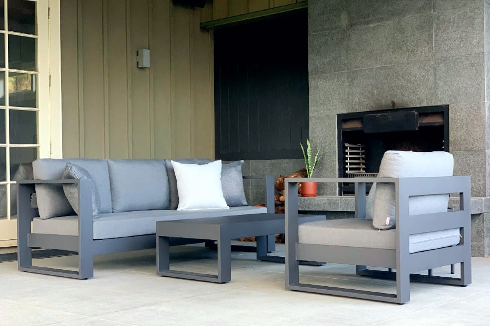black outdoor furniture nz