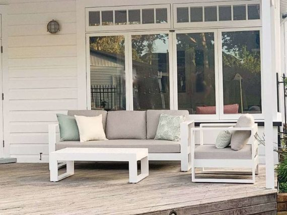 high quality modern outdoor lounge suite nz