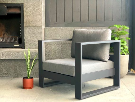 modern dark outdoor furniture nz