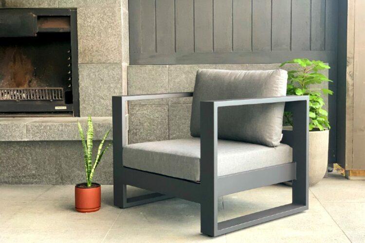 modern dark outdoor furniture nz