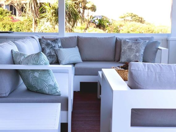 luxury range of outdoor botanical cushions