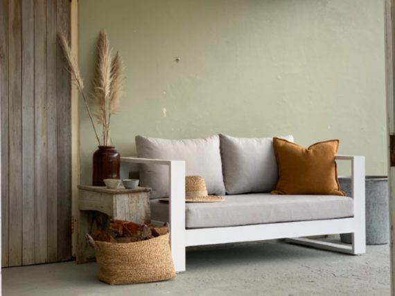 2 seater sofa natural sunbrella nz