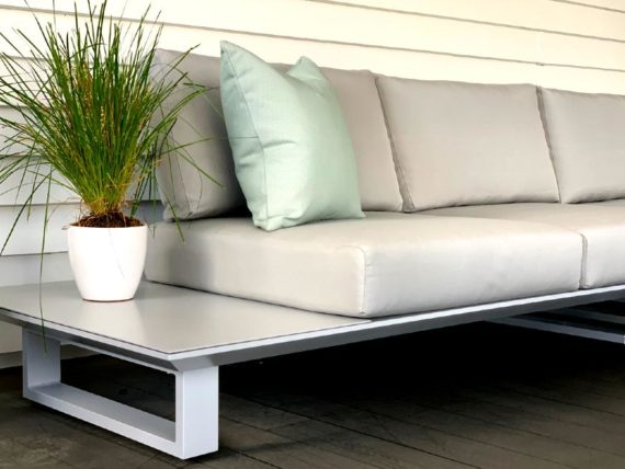armless designer modular outdoor sofa nz