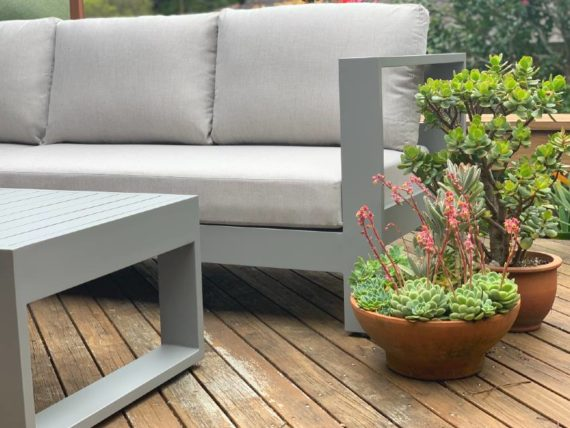 quality grey outdoor furniture