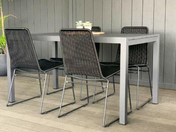 small outdoor aluminium table 1400mm nz
