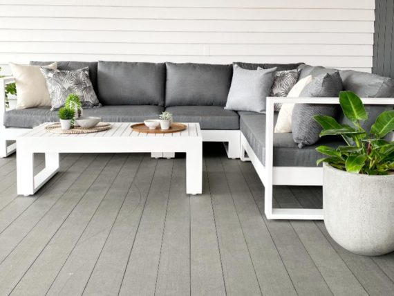 grey white quality modern outdoor corner nz